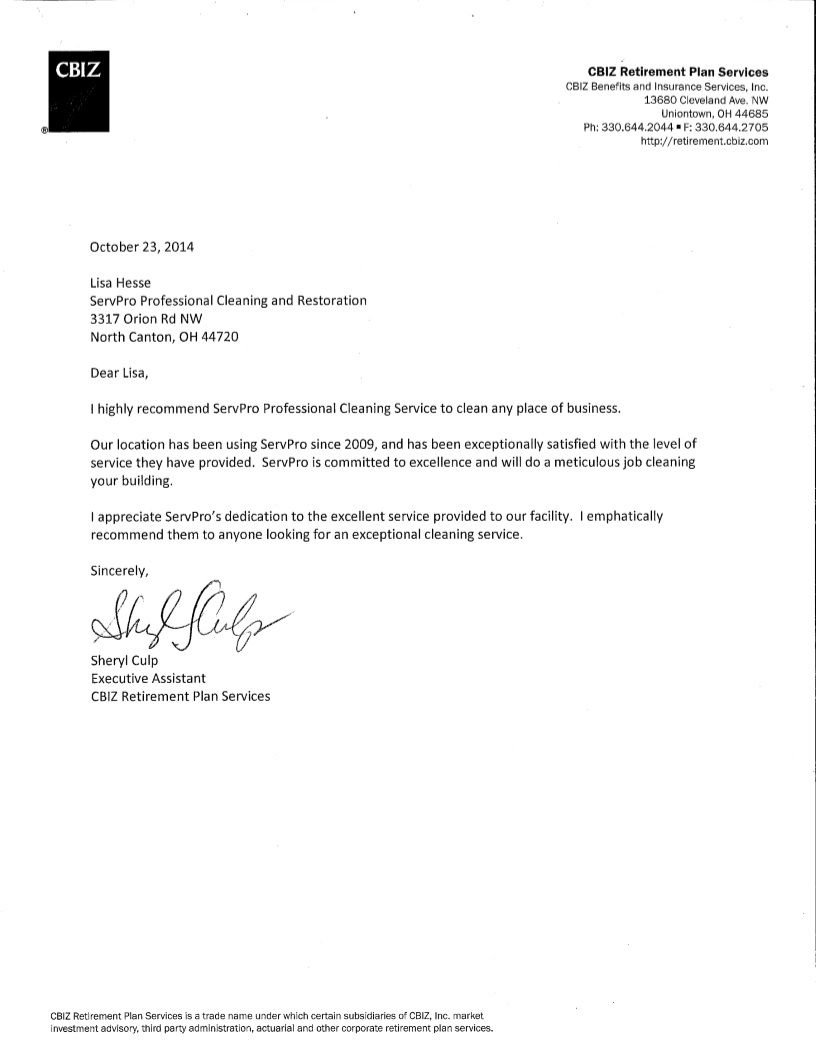 niw recommendation letter sample